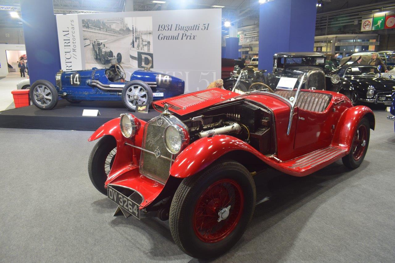 The most awesome carspotting experience at Rétromobile is the Auction