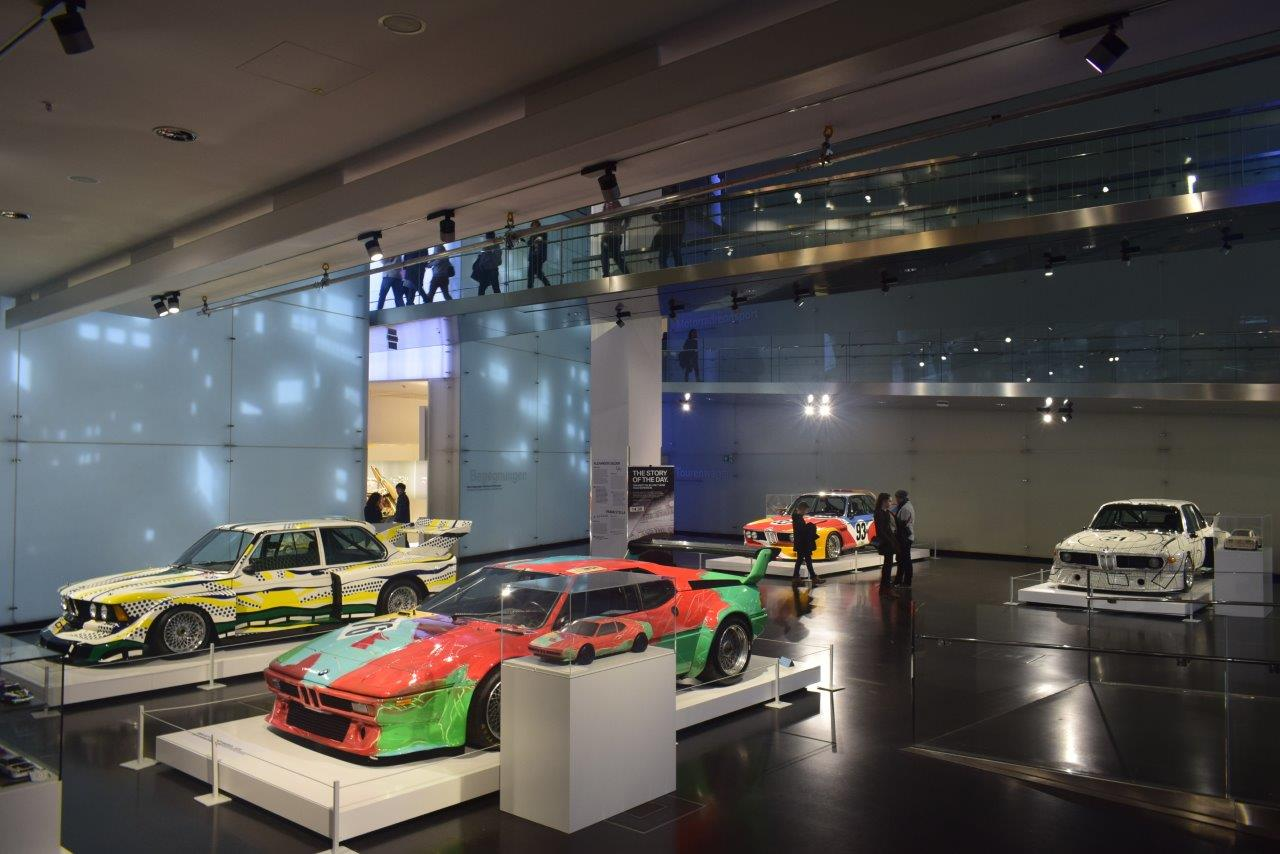 The BMW World showcases design icons, racing legends and a bold vision that nobody asked for