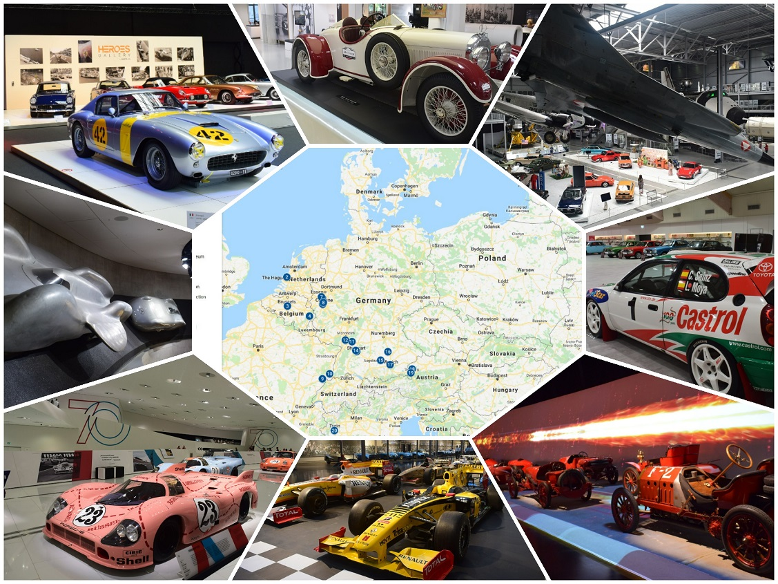 Your ultimate automuseum guide – with a map!