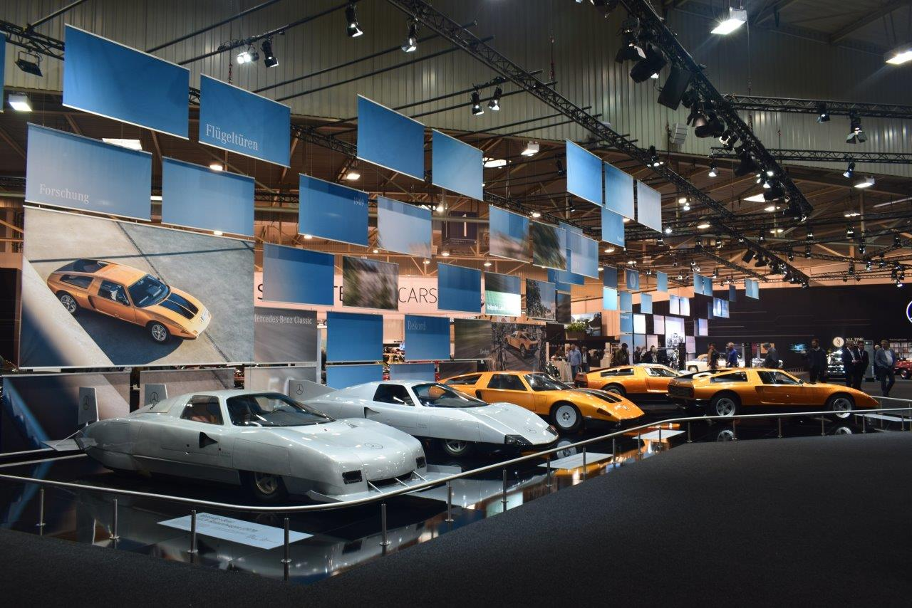 German brands' home advantage at the Techno Classica 2019