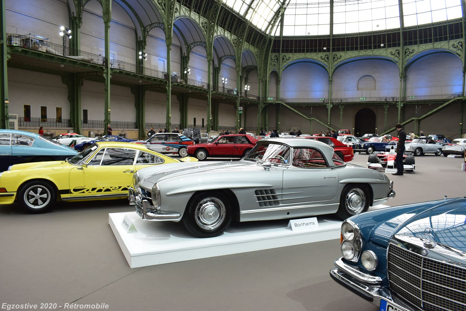 Bonhams' Auction in Paris was a car show on its own right